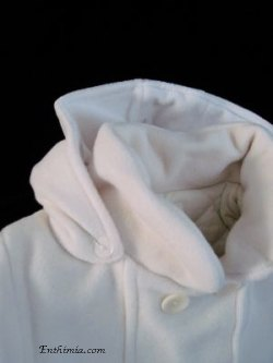 Coatg300A.  Girl's Baptism Coat