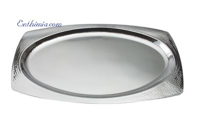 No.  789 Oval Hammered Wedding Tray