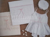 Girl's Lathopana - Pink Ribbons & Lace - Premium 6 pc. Gift Set